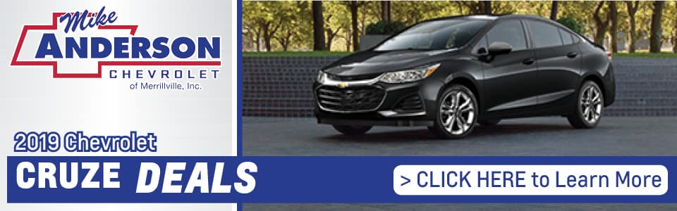 2019 Chevy Cruze Lease Deals banner