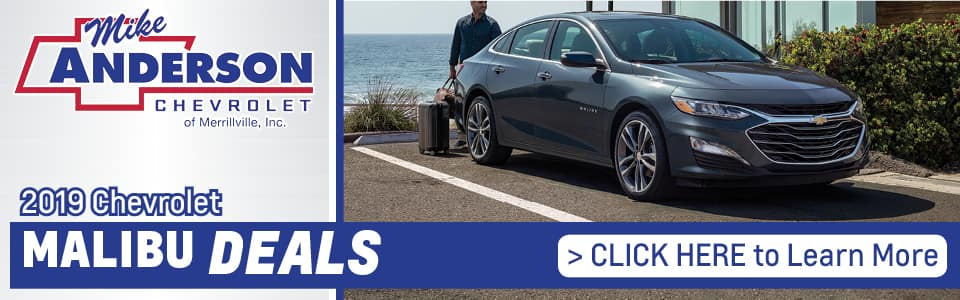 2019 Chevy Malibu Lease Deals banner