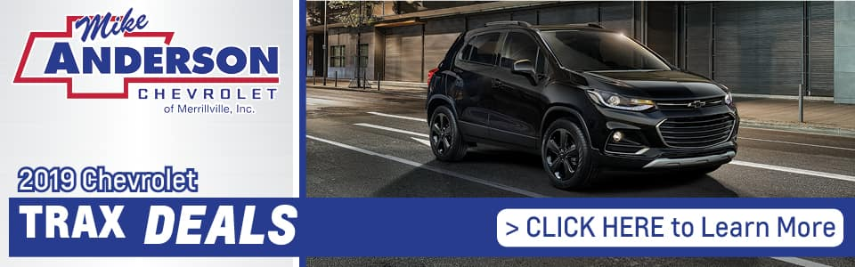 2019 Chevy Trax Lease Deals banner