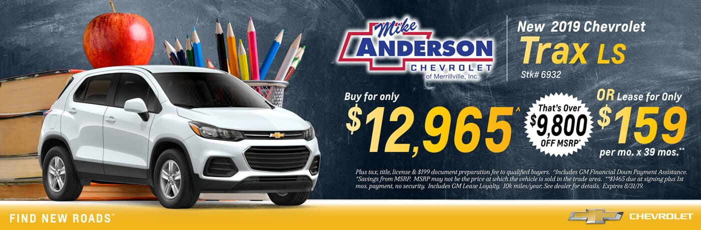 Maryville Auto Sales >> Chevrolet Dealership In Merrillville In Mike Anderson Chevrolet