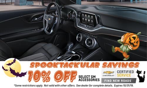 10% off Select GM Accessories
