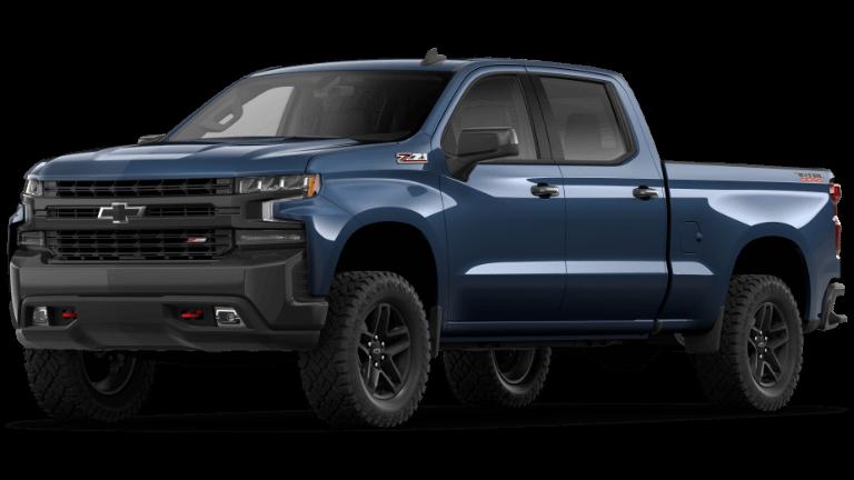 2020 Chevy Silverado 1500 LTTrailBoss Northsky Blue