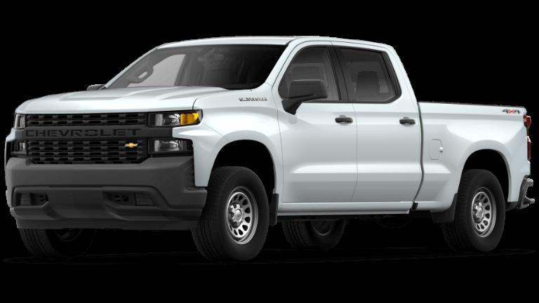 2020 Chevy Silverado 1500 WT-Summit White