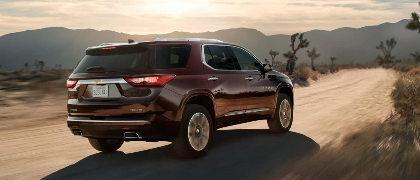 2020 Chevy Traverse Trim Levels What Are The Differences