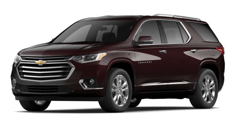 2020 Chevy Traverse HighCountry in Black Cherry
