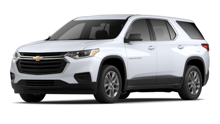 2020 Chevy Traverse L in Summit White