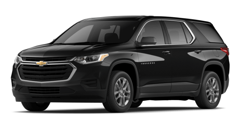 2020 Chevy Traverse LS in Mosaic Black