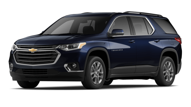 2020 Chevy Traverse LT in Midnight Blue