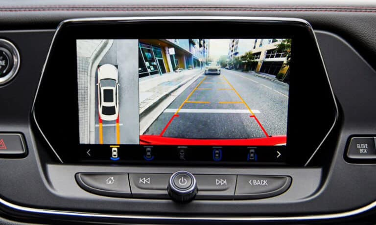 2020 chevy blazer rearview camera view and parking assist