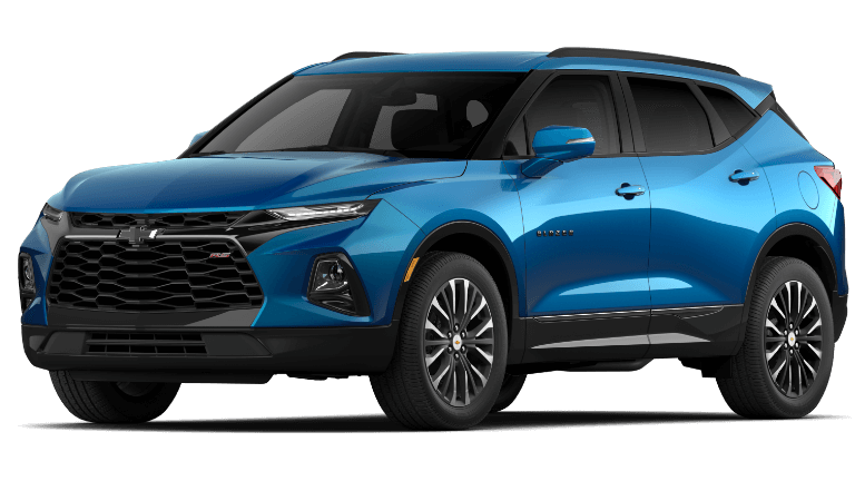 2020 Chevy Blazer RS in Blue