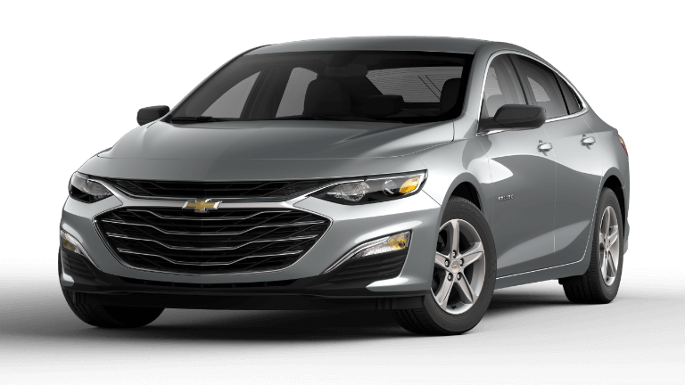 2020 Chevy Malibu L in Silver