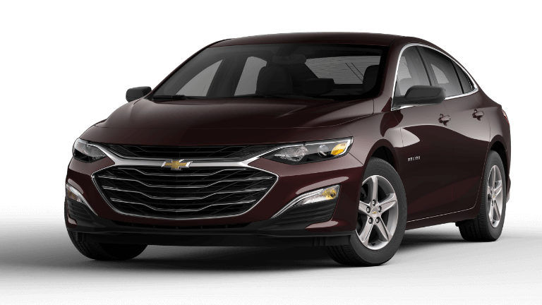 2020 Chevy Malibu LS in Black Cherry