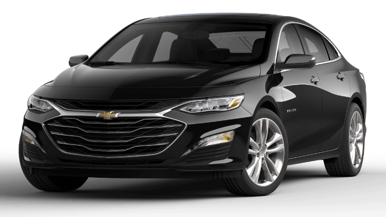 2020 Chevy Malibu Premier in Black