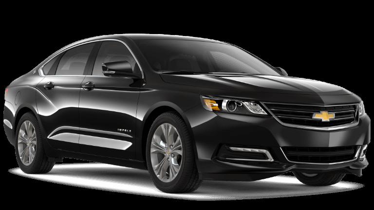 2020 chevy Impala LT in black