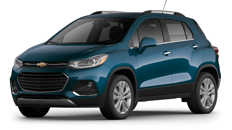 2020 Chevy Trax Premier in Blue