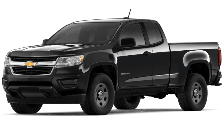 2020 Chevy Colorado Base in black