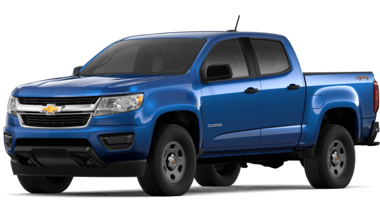 2020 Chevy Colorado WT in blue