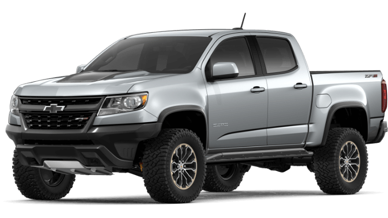 2020 Chevy Colorado ZR2 in silver