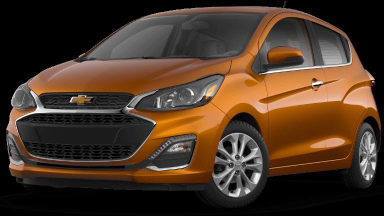 2020 Chevy Spark 2LT in orange