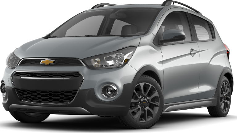 2020 Chevy Spark ACTIV in Silver