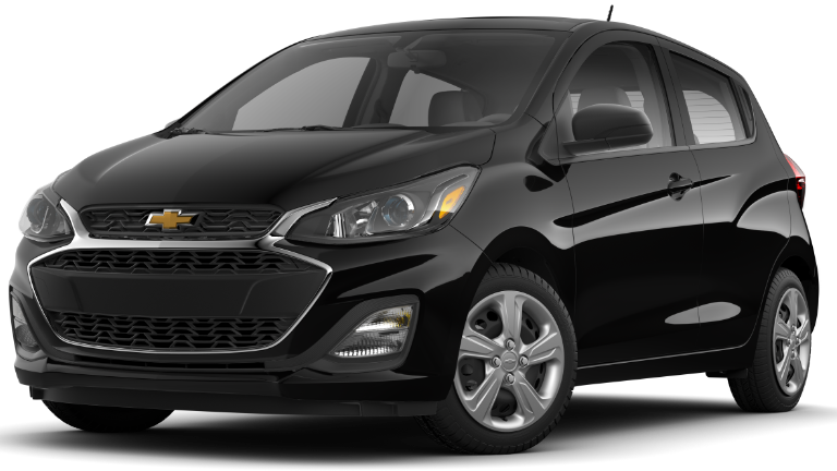 2020 Chevy Spark LS in black