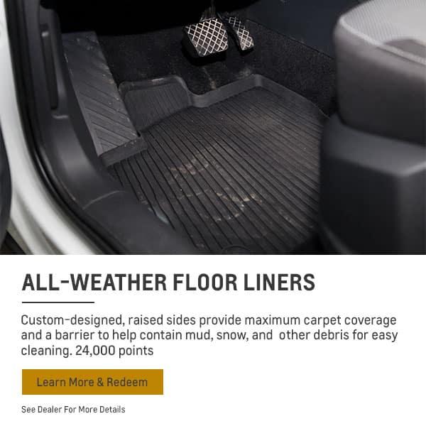 weather floor liners