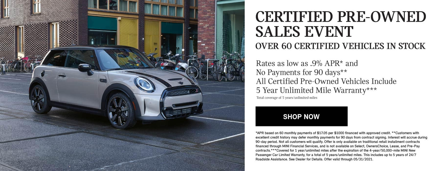 Certified Pre-Owned Sales Event over 60 certified vehicles in stock | Shop Now