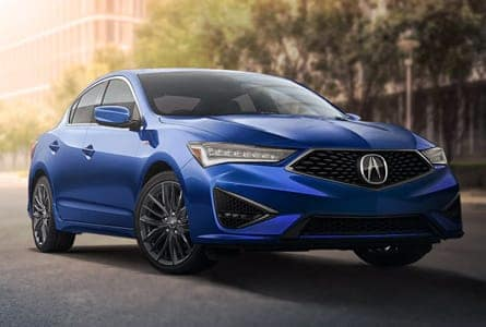 Blue 2020 Acura ILX Outdoors