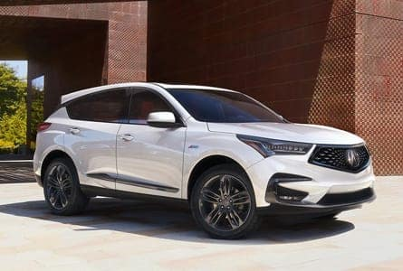 White 2020 Acura RDX on Road