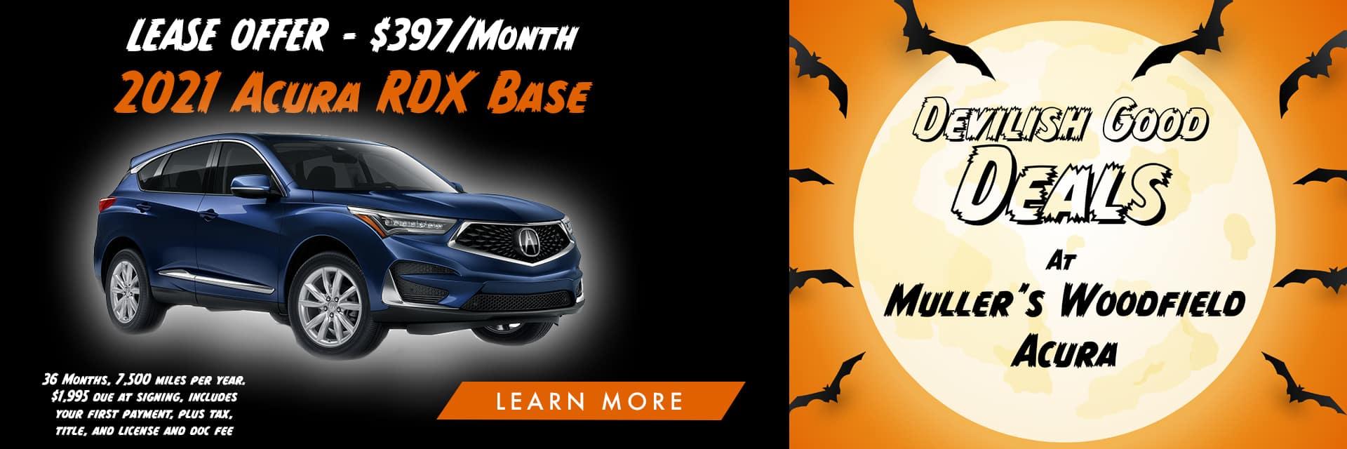 Acura RDX Halloween Banner