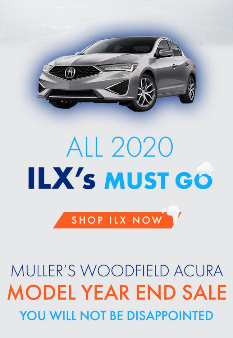 Acura ILX Winter Clearance Sale