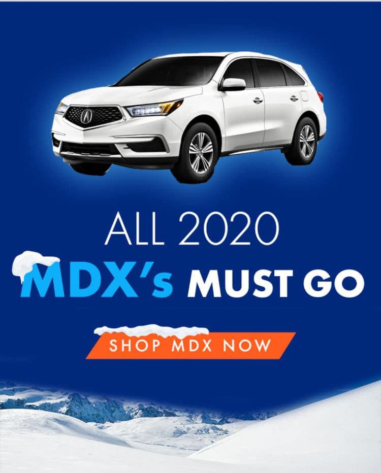 2020 MDX Clearance Sale