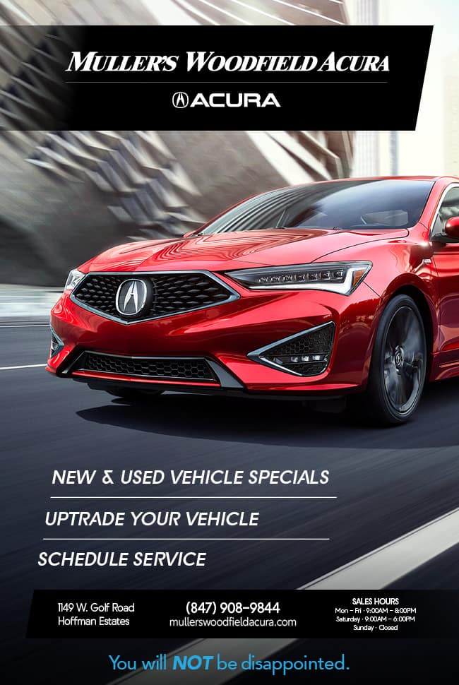 Muller Acura's Special Catalog