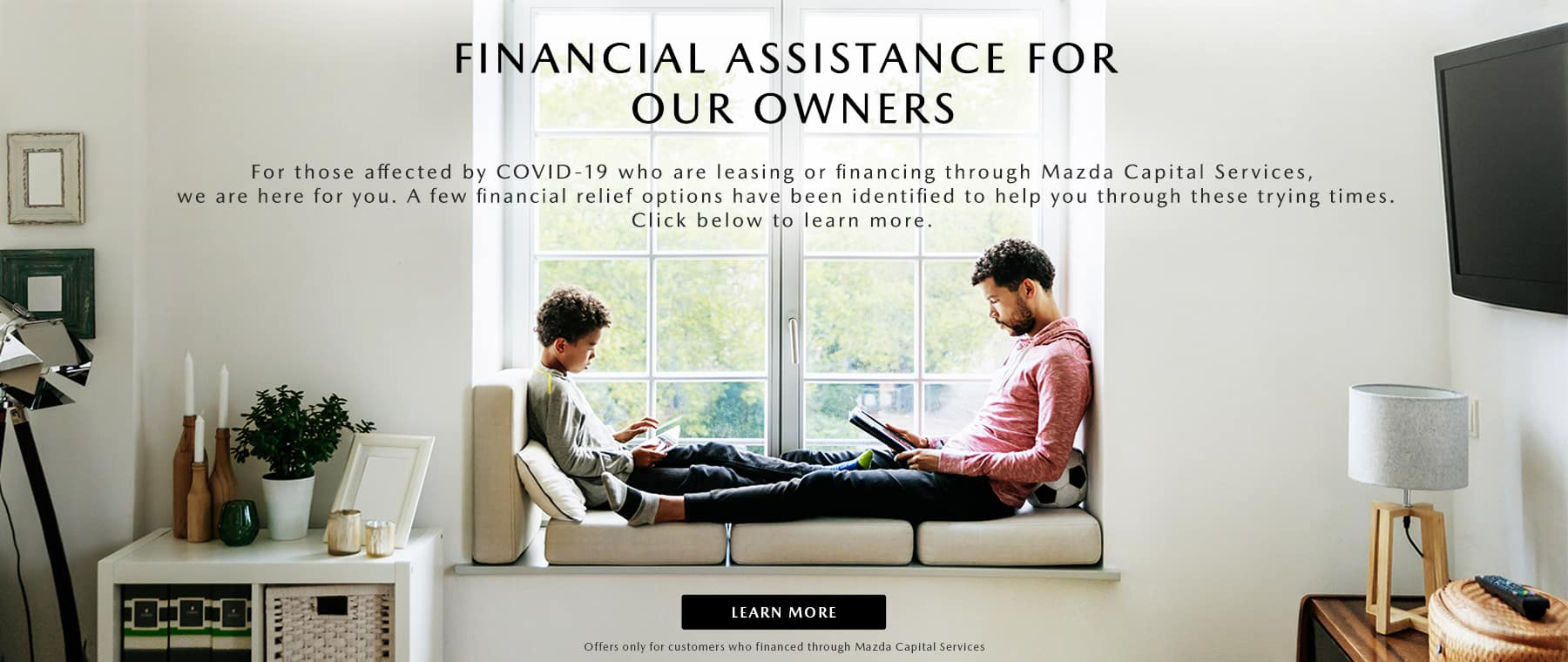 covid -19 finance offer