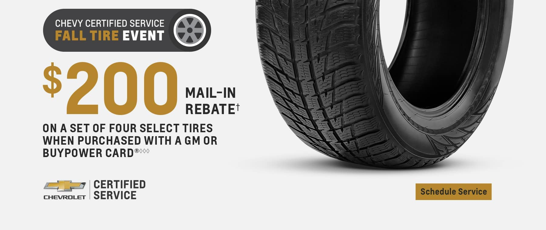 Chevy Fall Tire Event 2020