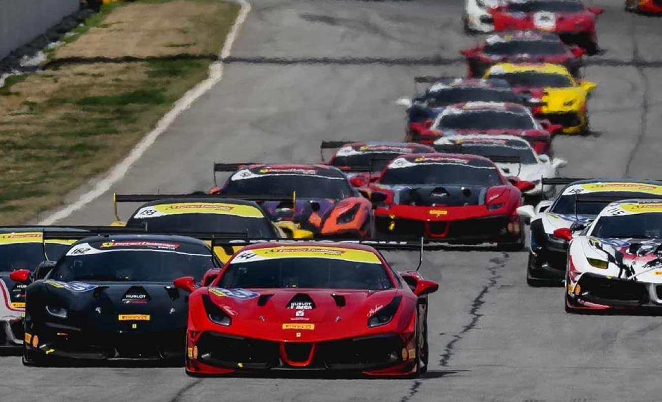 Ferrari raceway