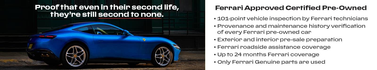 Ferrari Approved CPO