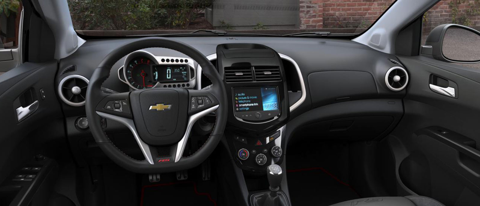 New 2017 chevrolet sonic from patsy lou chevrolet for 2017 chevrolet sonic sedan interior