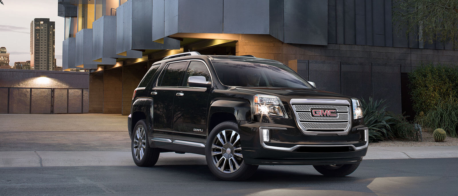 Beauty And Power Collide In The New 2017 Gmc Terrain Denali