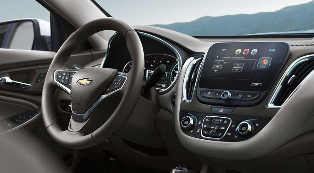 Space Meets Comfort The 2017 Chevrolet Malibu Interior