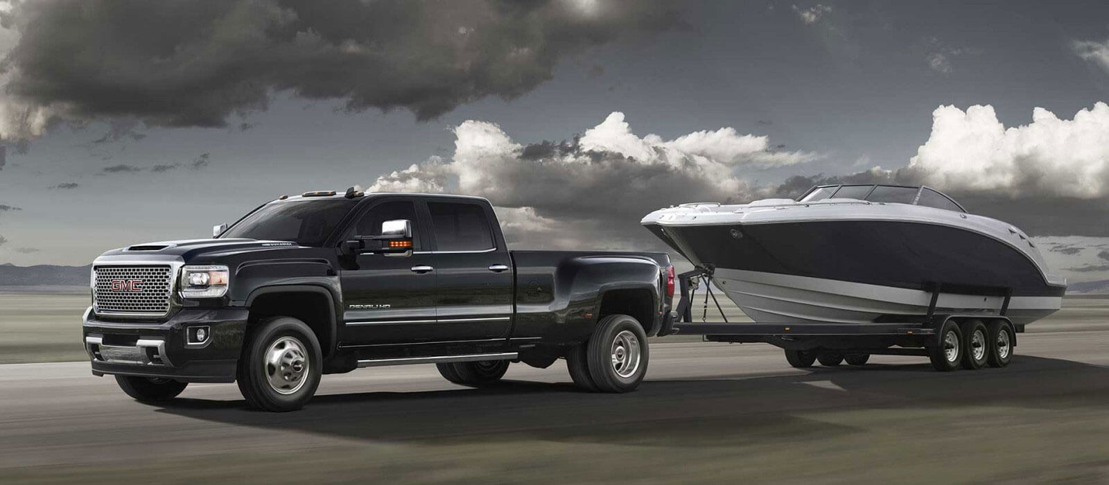 The Incredible Power Of 2017 Gmc Sierra 3500 Hd Dually Towing A Boat