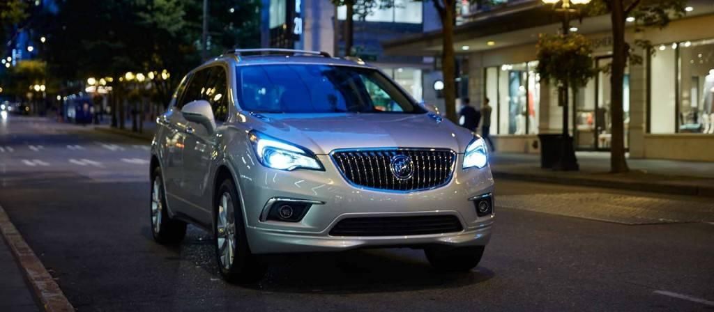 The 2017 Buick Envision Interior Dimensions and Design