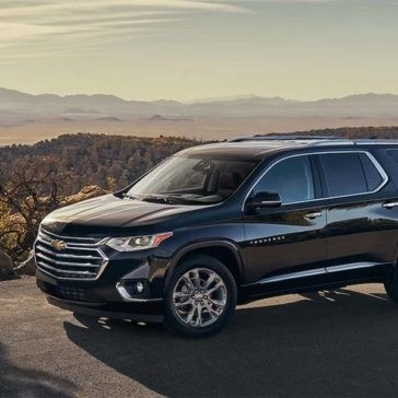 2018 Chevrolet Traverse By Scenic Overlook