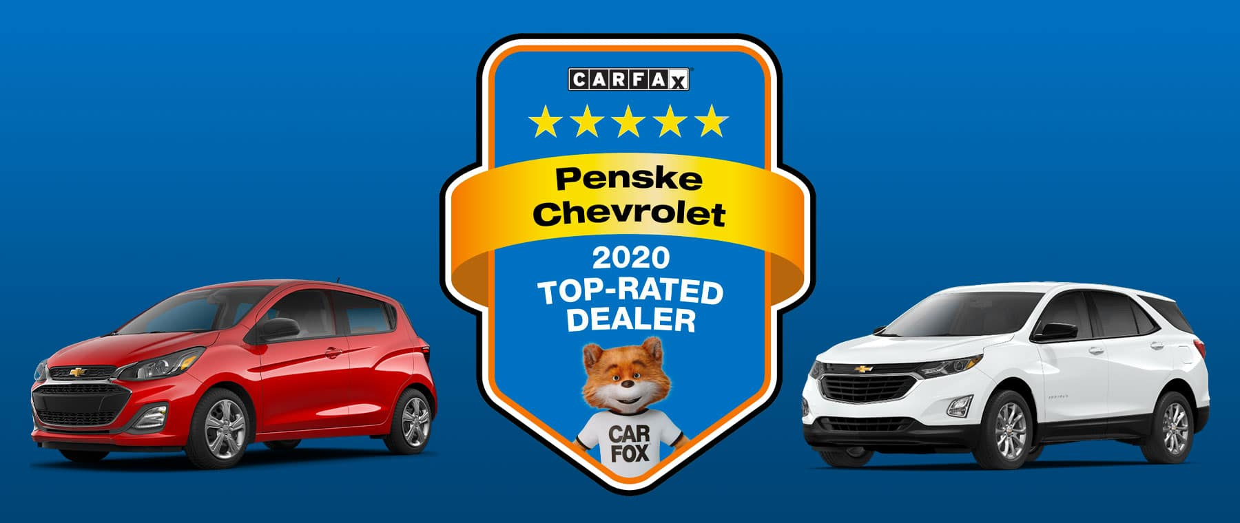 2020 Top-Rated Dealer award from Carfax.