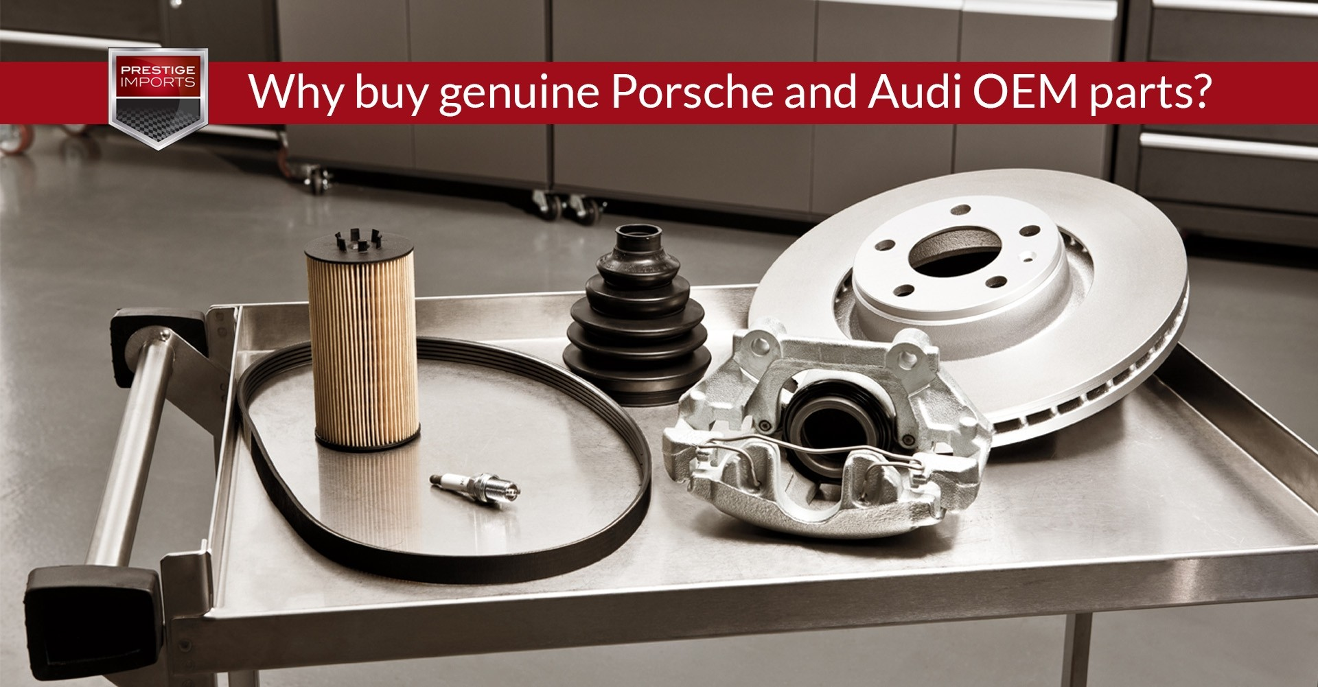 Why Buy Genuine Porsche And Audi OEM Parts - Audi oem parts