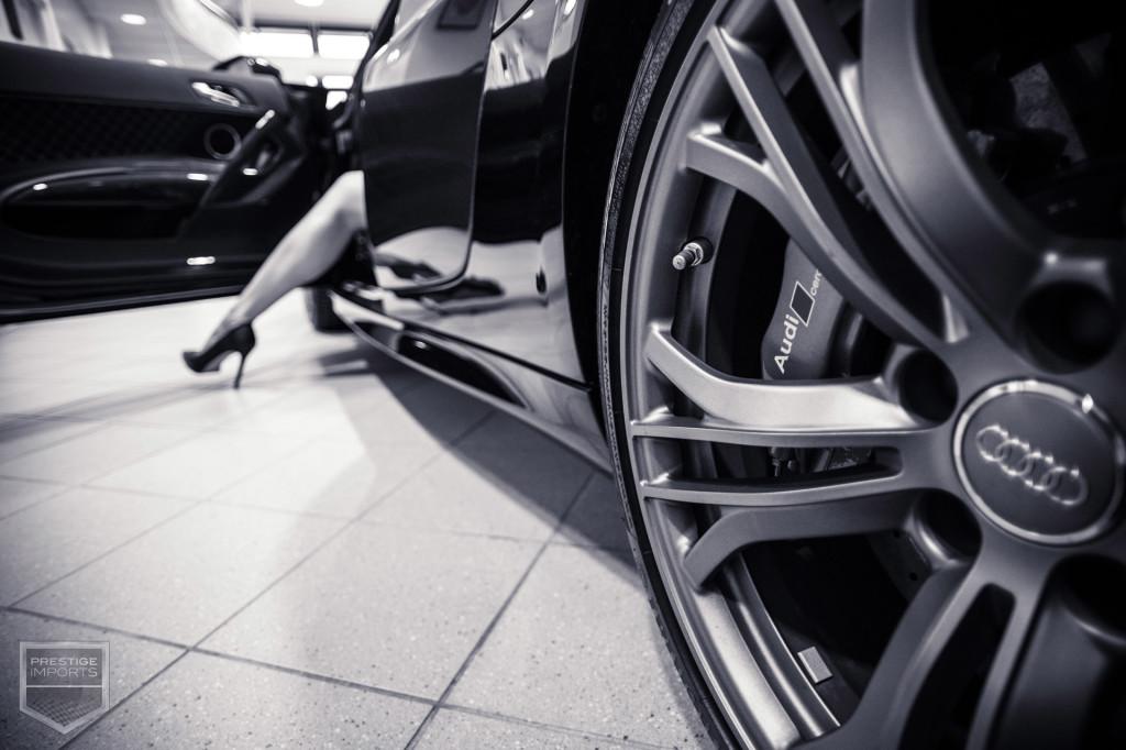 50 Shades - R8 Wheel and Woman's Leg