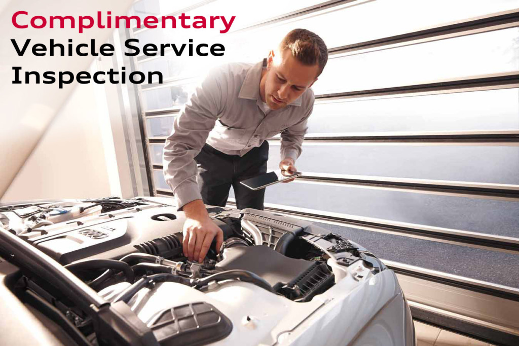 Complimentary Vehicle Service Inspection