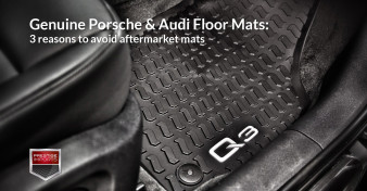 Photo of the new all-weather Audi floor mats for the 2015 Q3