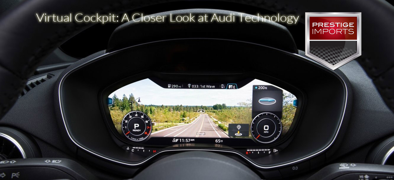 Virtual Cockpit A Closer Look At Audi Technology