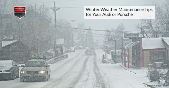 Winter Weather Maintenance Tips for Your Audi or Porsche